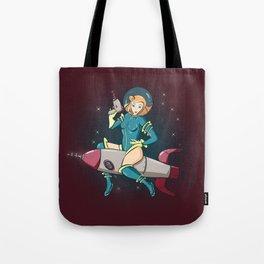 Rocket Ride Tote Bag