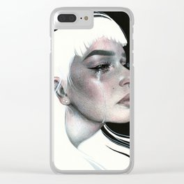 Real Tears Clear iPhone Case
