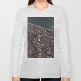 Roof of the Hotel oblique house Ulm Long Sleeve T-shirt