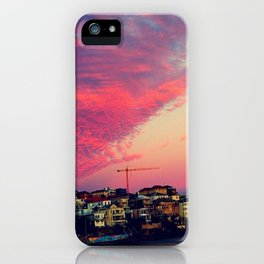 Bondi Beach Australia sunset iPhone Case
