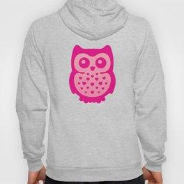 Cute Pink Baby Owl Hoody