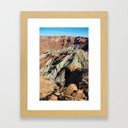 Close-up of Upheaval Dome, Utah Framed Art Print