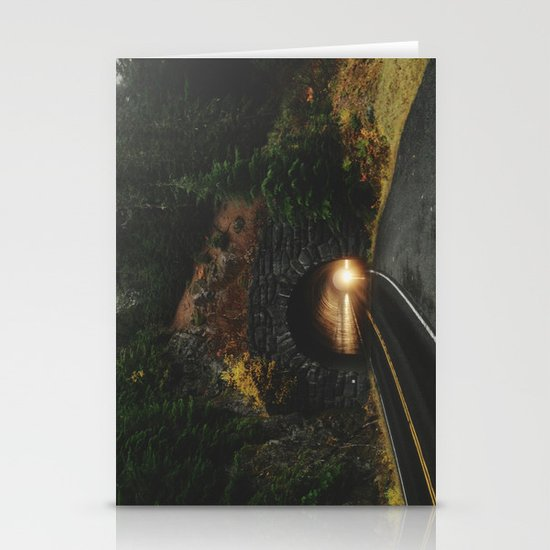 Rainier Tunnel Stationery Cards