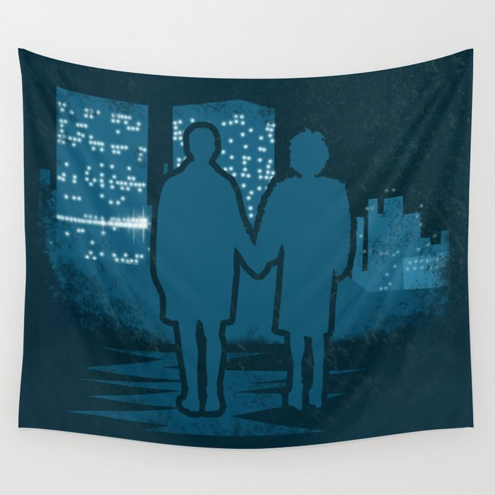 You met me at a very strange time in my life. Wall Tapestry