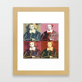 CHRISTOPHER MARLOWE (POET, ELIZABETHAN, SPY) Framed Art Print