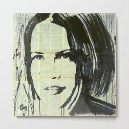 Portrait of a woman#2. Metal Print