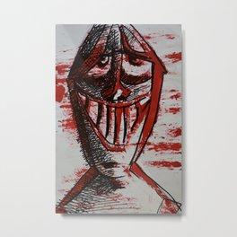 Normal Face Metal Print