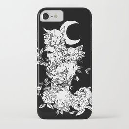Cats in black iPhone Case