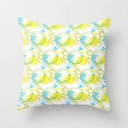 Swirls & Circles Throw Pillow