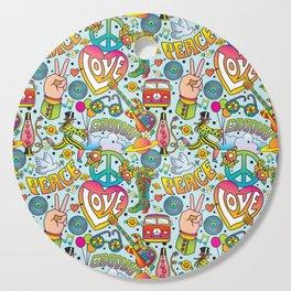 Peace&Love Cutting Board