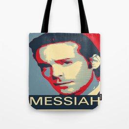 Baltar 'Messiah' design. Inspired by Battlestar Galactica. Tote Bag