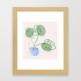 Pee / Lant Framed Art Print