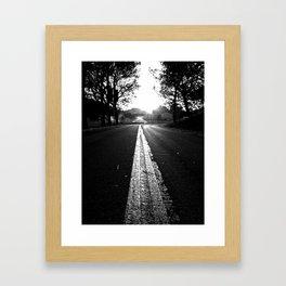 The Roads We Travel Framed Art Print