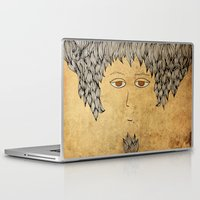architect Laptop & iPad Skins featuring He Is An Architect! by Duru Eksioglu