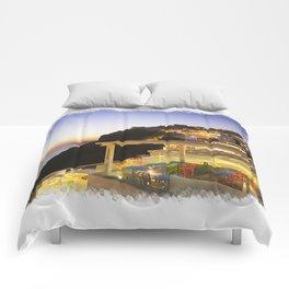 Santorini Sunset Comforters
