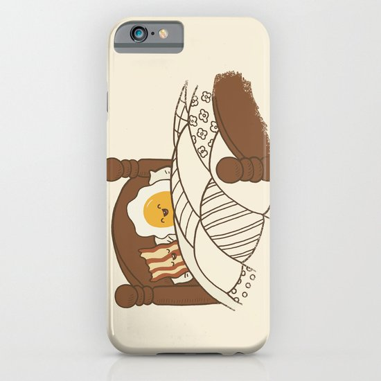 Breakfast In Bed  iPhone & iPod Case