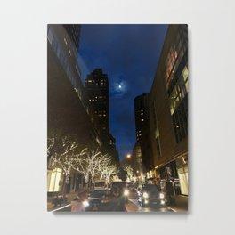 Lincoln Center Christmas Metal Print