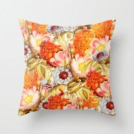 Coral Bloom #society6 #decor #buyart Throw Pillow