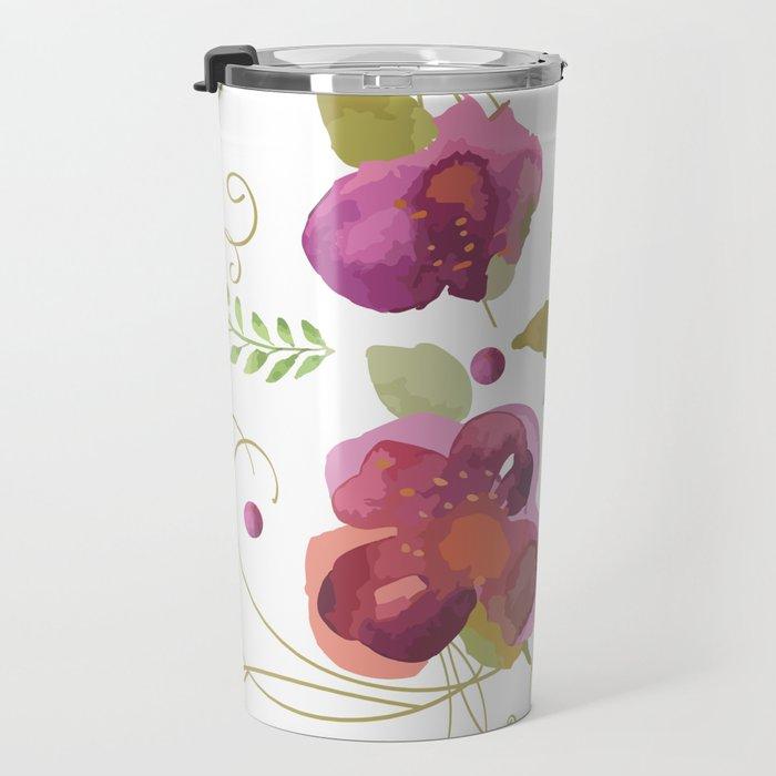 Deco flowers Travel Mug