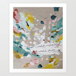 Inhale, Exhale Art Print