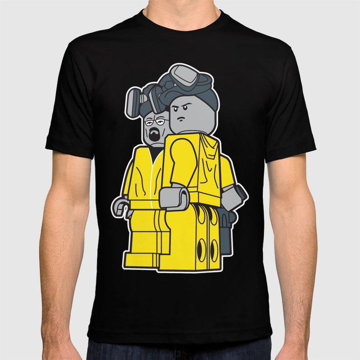 b4cc09375 Breaking Bad Lego Characters T-shirt by doubledotdesigns | Society6