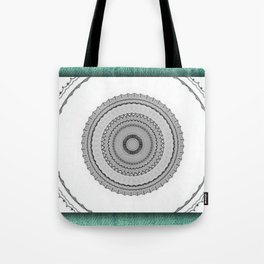 Green West Tote Bag