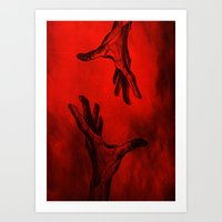 let it go Art Prints featuring Let go by Siriusreno