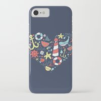 nautical iPhone & iPod Cases featuring Nautical by lindsey salles