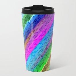Colorful digital art splashing G478 Travel Mug