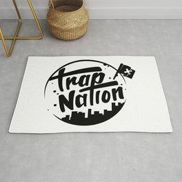 Trap Nation illustration Rug