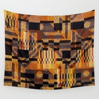 art deco Wall Tapestries featuring art deco by clemm