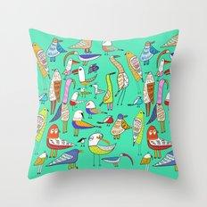 Tweet Tweet Tweet. Throw Pillow