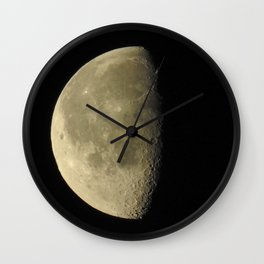 Demi-Luna Wall Clock