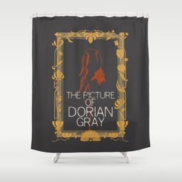 BOOKS COLLECTION: Dorian Gray Shower Curtain
