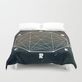 chaos out of ord... Duvet Cover