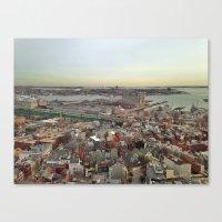 boston Canvas Prints featuring Boston by JM Pilkington