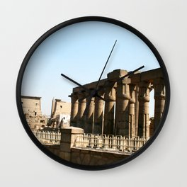 Temple of Luxor, no. 30 Wall Clock