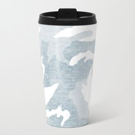Chambray camo Travel Mug