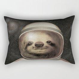 Space Sloth Rectangular Pillow