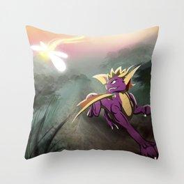 Race Ya Throw Pillow
