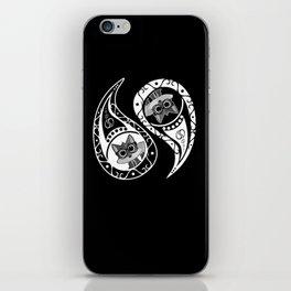 Ying Yang - Fox Nerd iPhone Skin