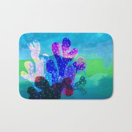 Filtered Coral Bath Mat