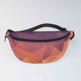 Abstract Geometric Poly #2 Fanny Pack