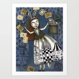 The Magic Act Art Print
