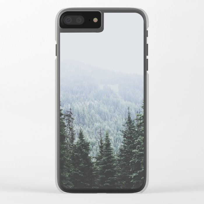 Forest Window Clear iPhone Case