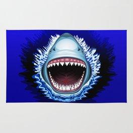 Shark Jaws Attack Rug