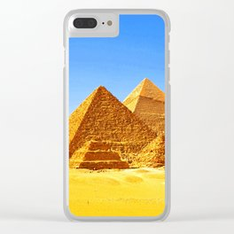 The Pyramids At Giza Clear iPhone Case
