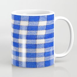 Gingham / vichy Pattern -strips,fashion,squares,french,vichy, gingham,bistrot,textiles,indie Coffee Mug