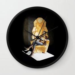 Split Wall Clock