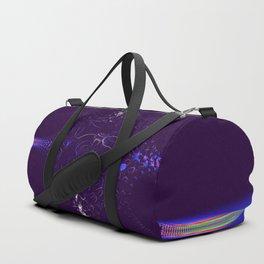 Collision on Indigo Duffle Bag